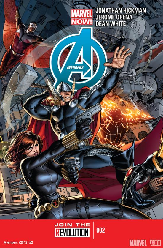 cover from Avengers (2012) #2