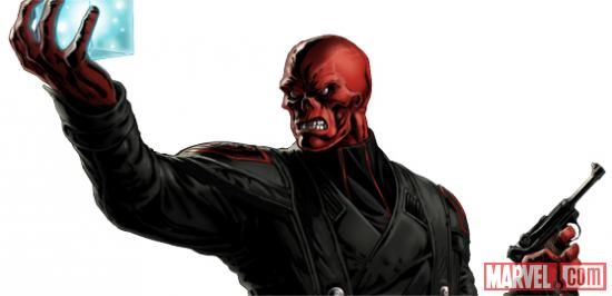 Red Skull character model from Marvel: Avengers Alliance