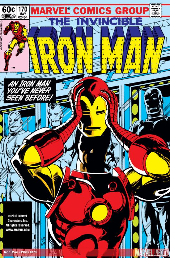 Iron Man (1968) #170 Cover