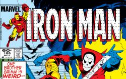 Iron Man (1968) #188 Cover
