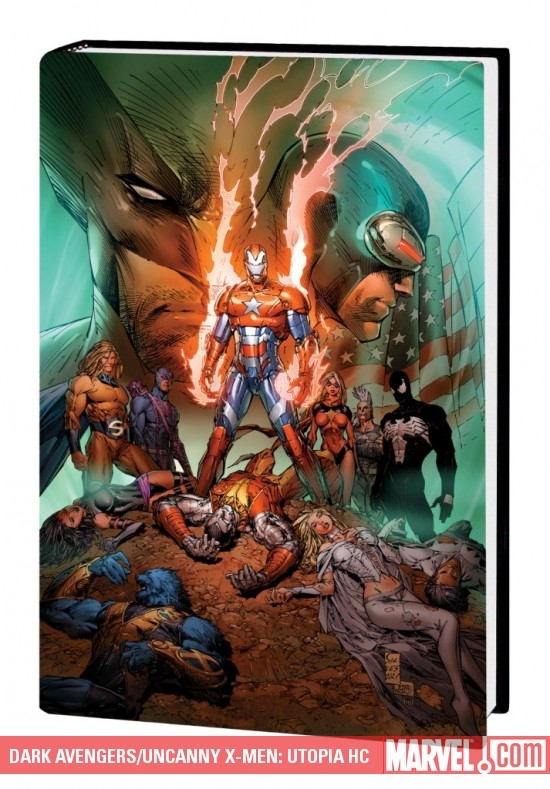 DARK AVENGERS/UNCANNY X-MEN: UTOPIA HC