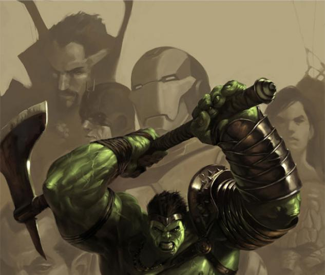 WORLD WAR HULK: GAMMA FILES #1