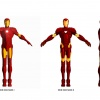 Iron Man Mark I and II comparison from Iron Man: Armored Adventures