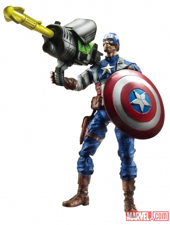 Avengers Power-Up Mission Figure Captain America wave 1