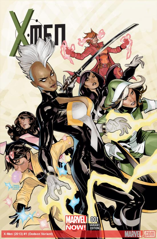 X-MEN 1 DODSON VARIANT (NOW, 1 FOR 50, WITH DIGITAL CODE)