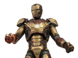 Marvel Select Battle Damaged Iron Man Mark 42 figure