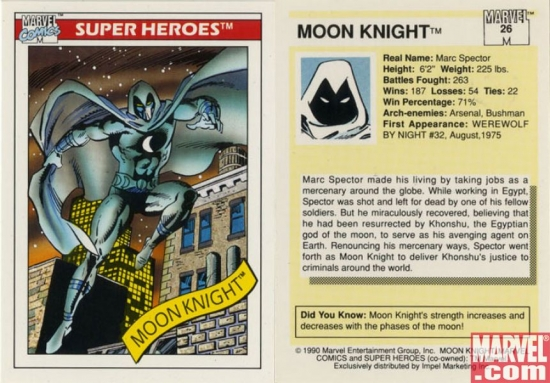 Moon Knight, Card #26