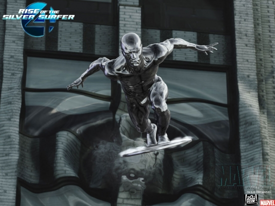 Fantastic Four: Rise of the Silver Surfer: Silver Surfer Charging
