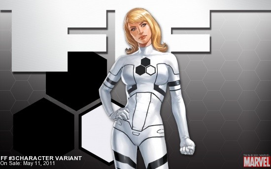 FF (2010) #3 (CHARACTER VARIANT)