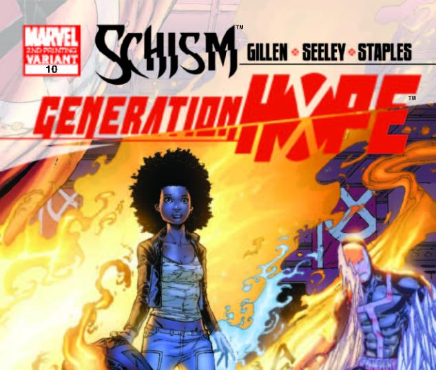GENERATION HOPE 10 2ND PRINTING VARIANT