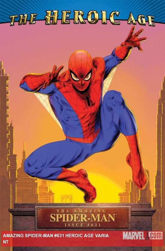 Amazing Spider-Man (1999) #631, Heroic Age Variant