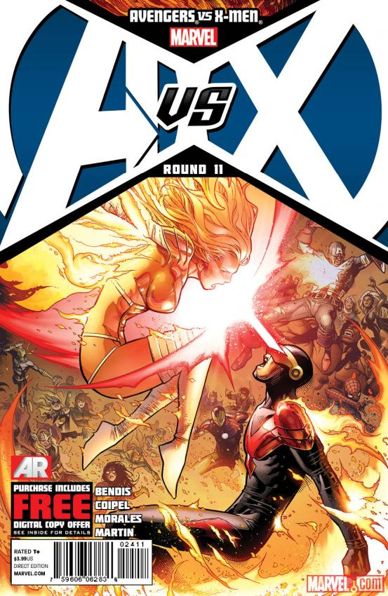 Avengers VS X-Men #11 cover art by Jim Cheung