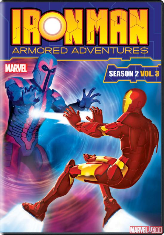 Iron Man: Armored Adventures Season 2, Vol. 3 DVD box art