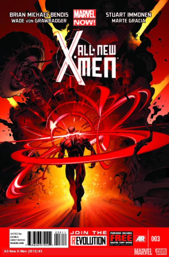 ALL-NEW X-MEN 3 (NOW, WITH DIGITAL CODE)