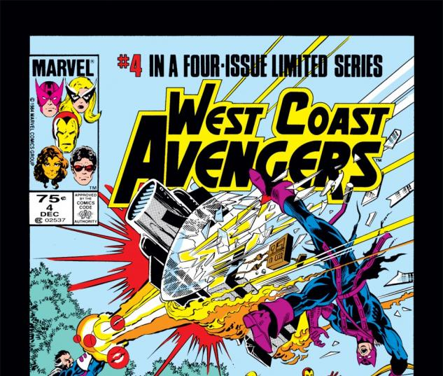 West Coast Avengers (1984) #4 Cover