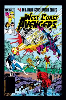 West Coast Avengers (1984) #4