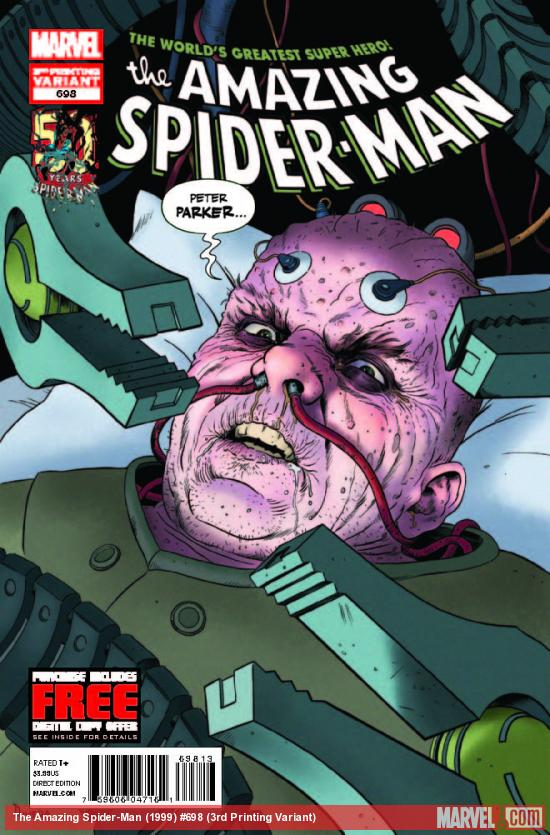 AMAZING SPIDER-MAN 698 3RD PRINTING VARIANT