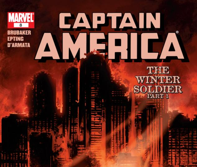 Cover: Captain America (2004) #1 of 6 - Winter Soldier
