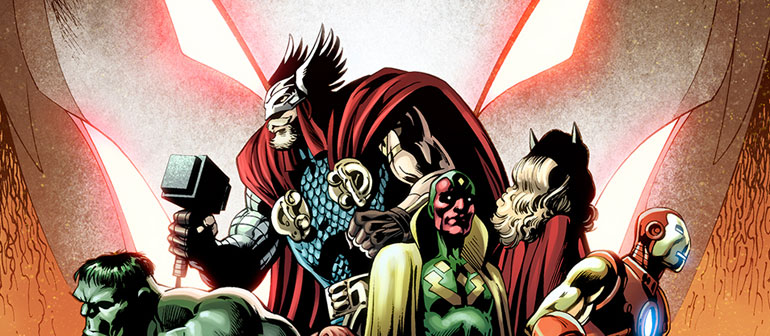 The Avengers Assemble to Face Ultron Forever