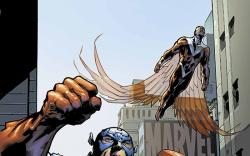 CAPTAIN AMERICA & THE FALCON (2006) #12 COVER
