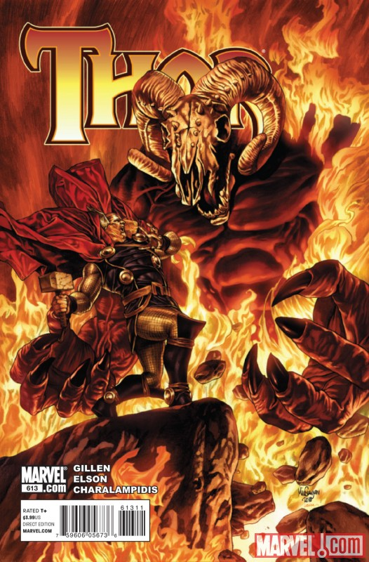 THOR #613 cover by Mico Suayan