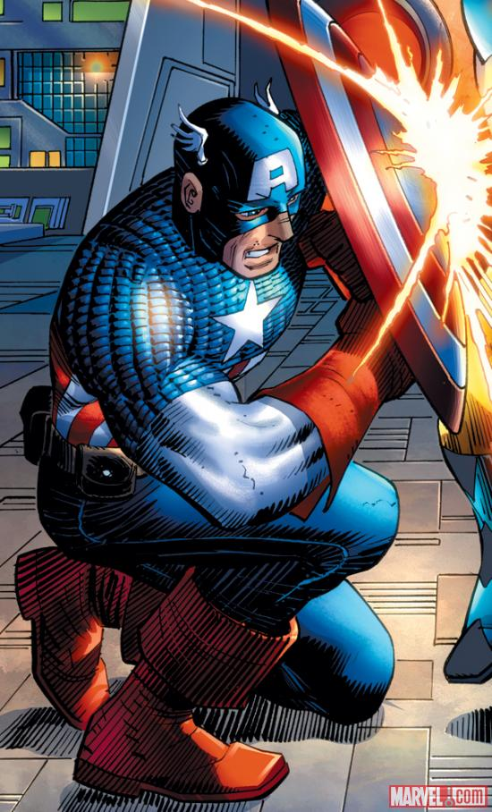Captain America by John Romita Jr.