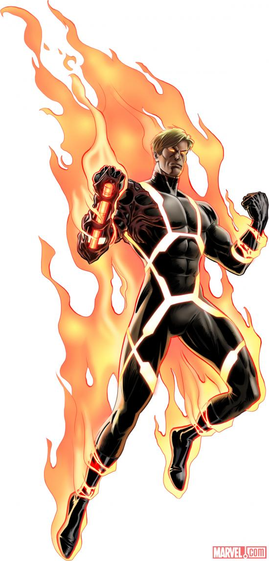 Annihilus Human Torch from Marvel: Avengers Alliance