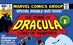 Tomb of Dracula (1972) #70 Cover