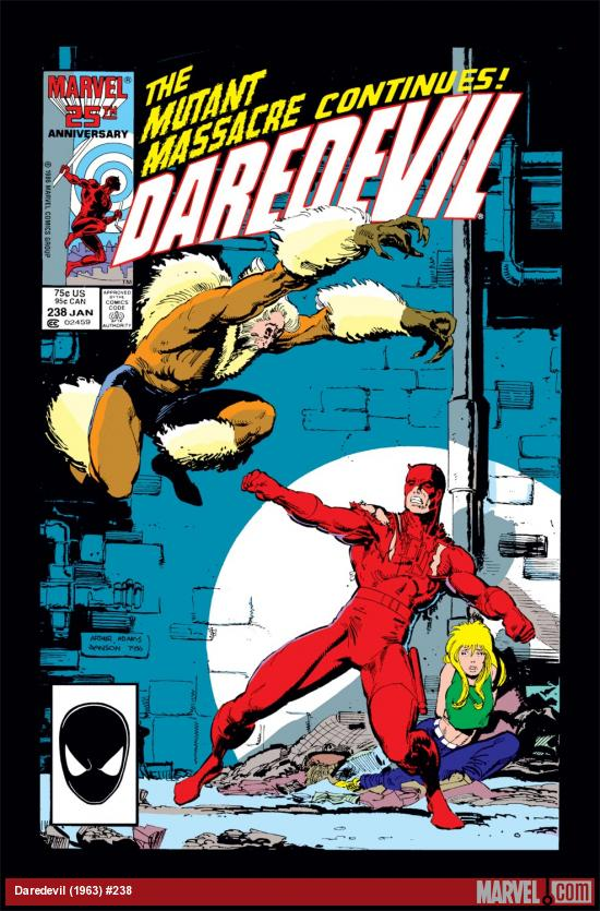 Daredevil (1963) #238 Cover