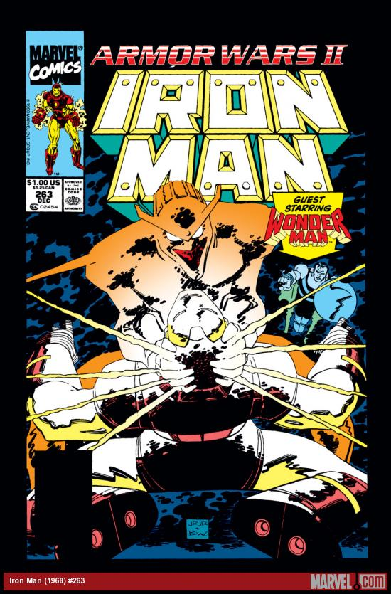 Iron Man (1968) #263 Cover