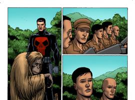 Thunderbolts (2012) #3 preview art by Steve Dillon