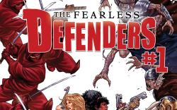 cover from Defenders II (2013) #1