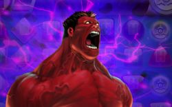 Red Hulk in Marvel Puzzle Quest