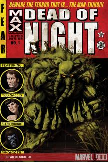 Dead of Night Featuring Man-Thing #1