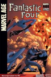 Marvel Age Fantastic Four #10
