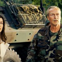 Liv Tyler as Betty Ross and William Hurt as her father