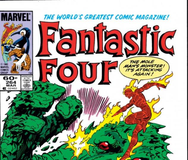 FANTASTIC FOUR #264