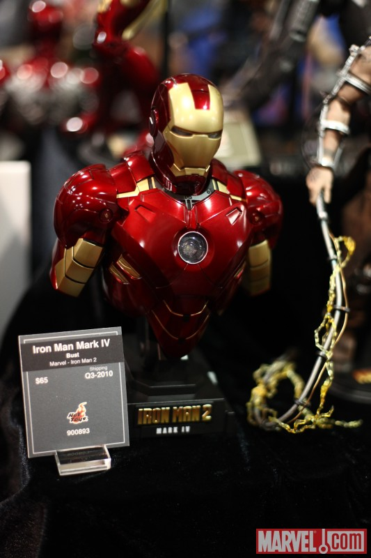 Iron Man bust from Sideshow Collectibles