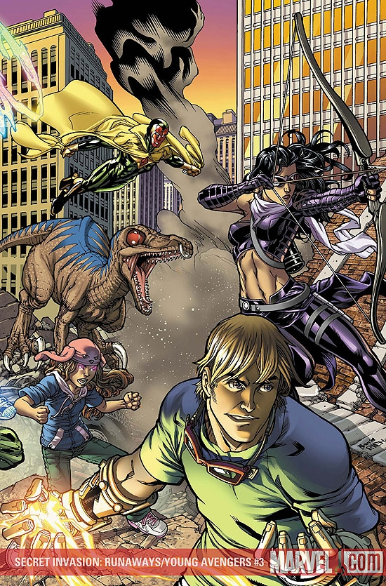 SECRET INVASION: RUNAWAYS/YOUNG AVENGERS #3