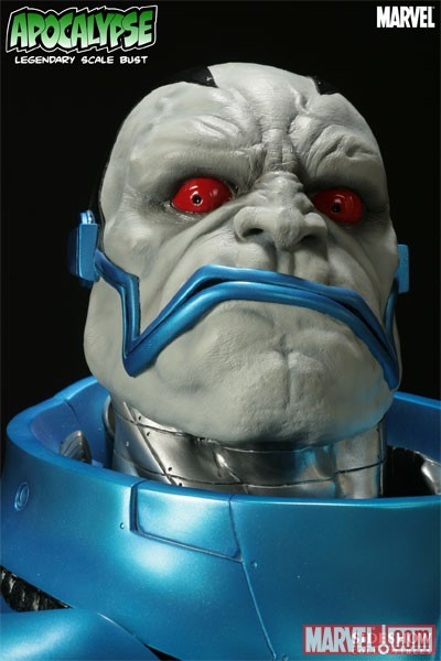 Apocalypse Legendary Bust from Sideshow Collectibles