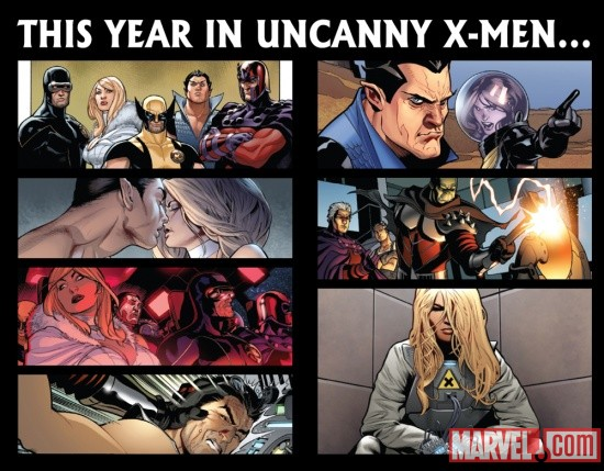 This Year in Uncanny X-Men
