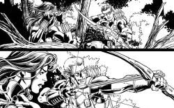 Assembling the Avengers: Black Widow &amp; Hawkeye