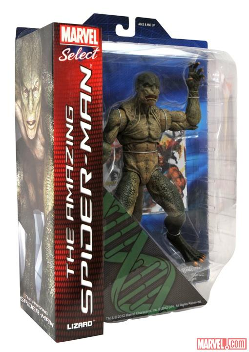 Lizard figure from Diamond Select Toys