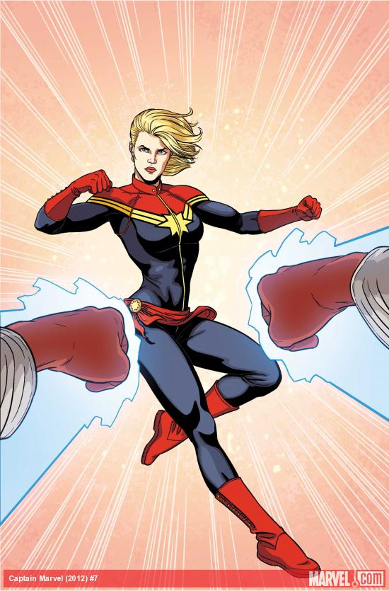Captain Marvel #7 Cover