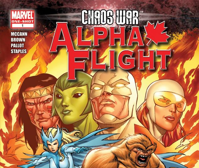 Chaos War: Alpha Flight (2010) #1