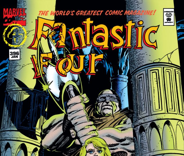 Fantastic Four (1961) #396 Cover