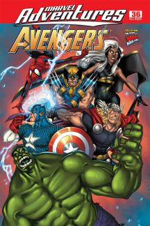 Marvel Adventures the Avengers #36