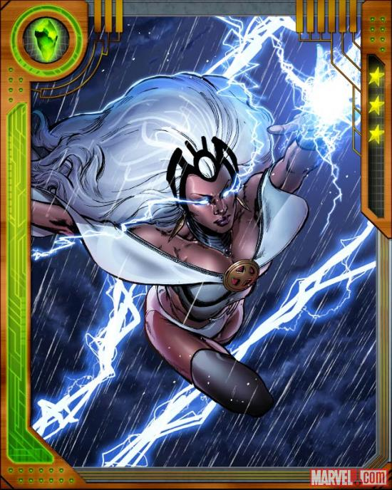Storm in Marvel: War of Heroes