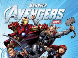 AVENGERS ASSEMBLE #1 poster by Mark Bagley