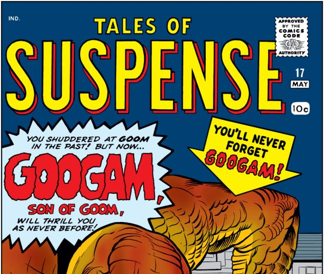 Tales of Suspense (1959) #17 Cover